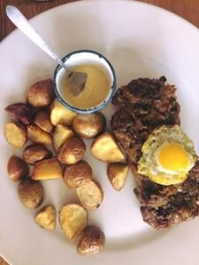 restaurante colombiano abasto prato batata e carne