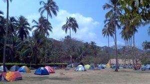 parque tayrona campinh