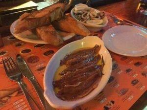 comida chilena de la ostia cardapio