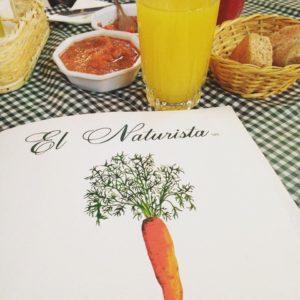 comida chilena cardapio el naturista