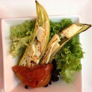 comida chilena salda e abobrinha
