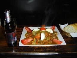 comida boliviana prato sol y luna