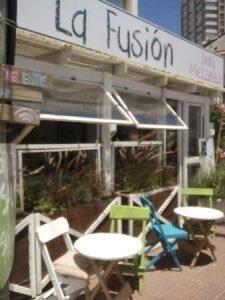 fachada la fucion comidas típicas do uruguai