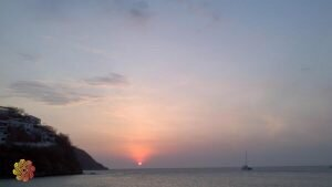 parque tayrona por do sol