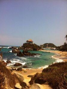 parque tayrona praia