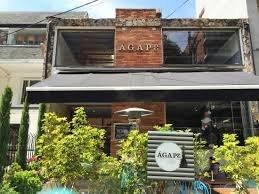 restaurante colombiano agape fachada