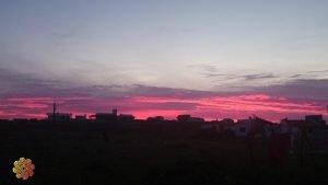 por do sol cabo polonio no uruguai