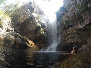 cachoeira anjos alto paraíso