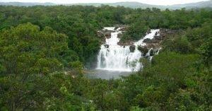 cachoeira poço encantando alto paraíso