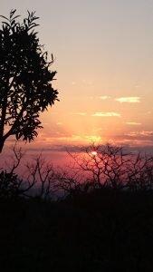 pôr do sol alto paraíso