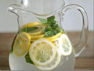 poder do limão jarra