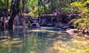 Erawan Parque – Incluindo Kanchanaburi na sua ida à Tailândia