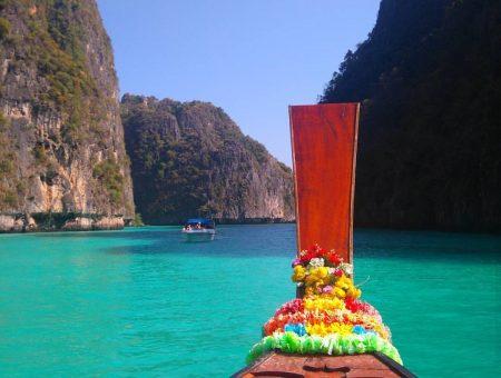 A famosa e linda Koh Phi Phi Island