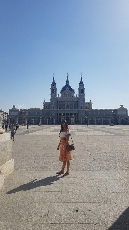 conhecendo a capital da Espanha