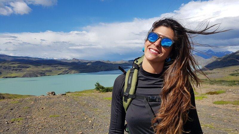 terreno em trekking da Patagônia chilena