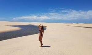 Uma das paisagens mais belas e únicas do Brasil: Delta do Parnaíba