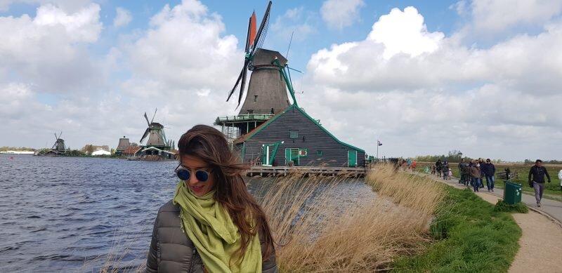 viajando em Amsterdã