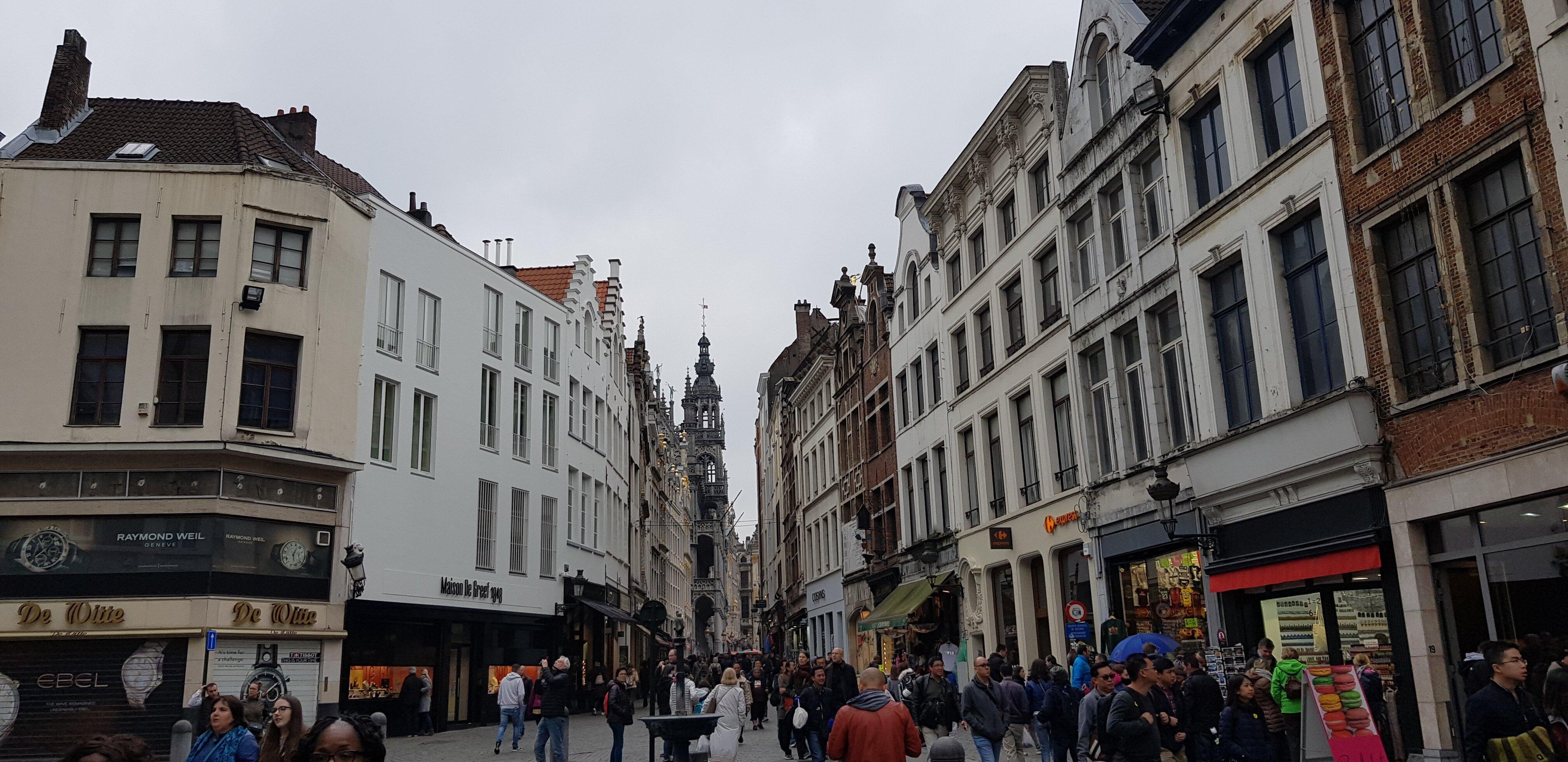 um dia na capital da Bélgica