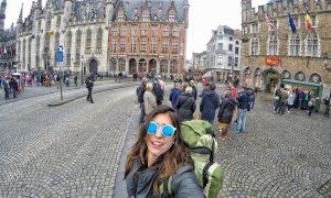 Um dia em Bruges, cantinho de charme e beleza na Bélgica!