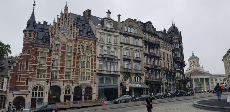 dia de viagem em Bruxelas