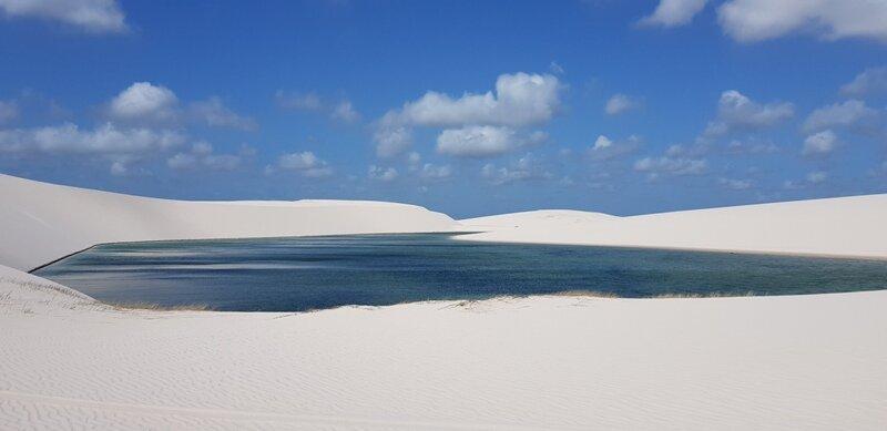 viagem para lençóis maranhenses duna branca