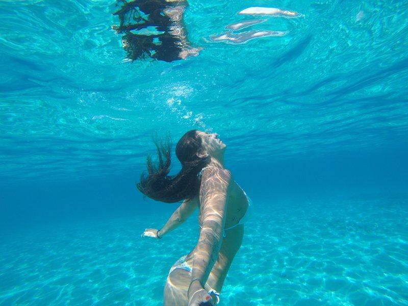 viagem para polinésia mergulho