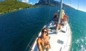 Já pensou em se hospedar em um veleiro? Então vej como foi velejar na Polinésia!