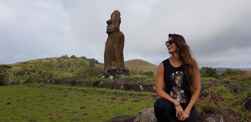 roteiro para ilha de pascoa moai