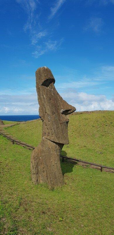 roteiro para ilha de pascoa fábrica de moai