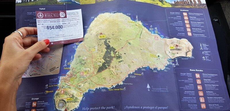 roteiro para ilha de pascoa ticket