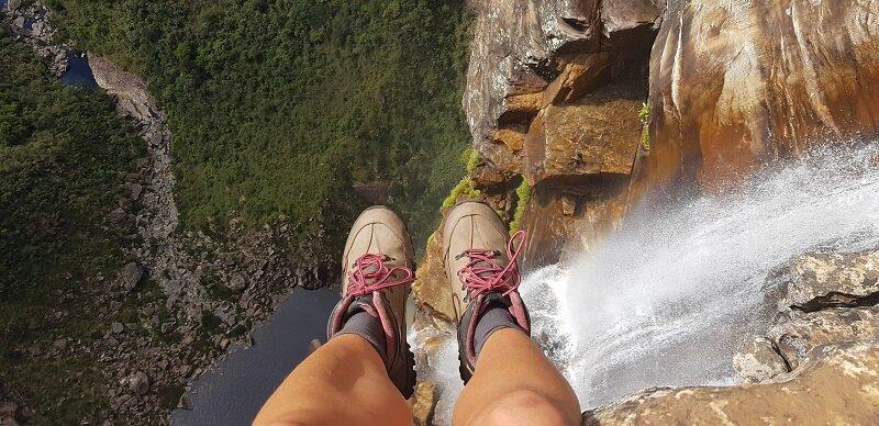trilhas da cachoeira do tabuleiro altura