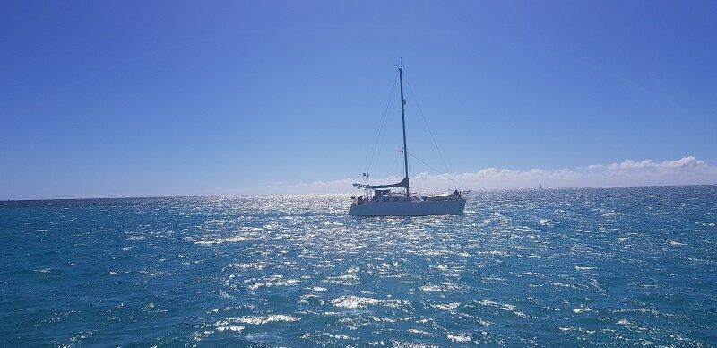 velejar na polinesia francesa