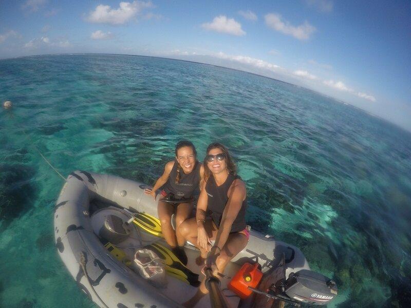 velejar na polinesia bote