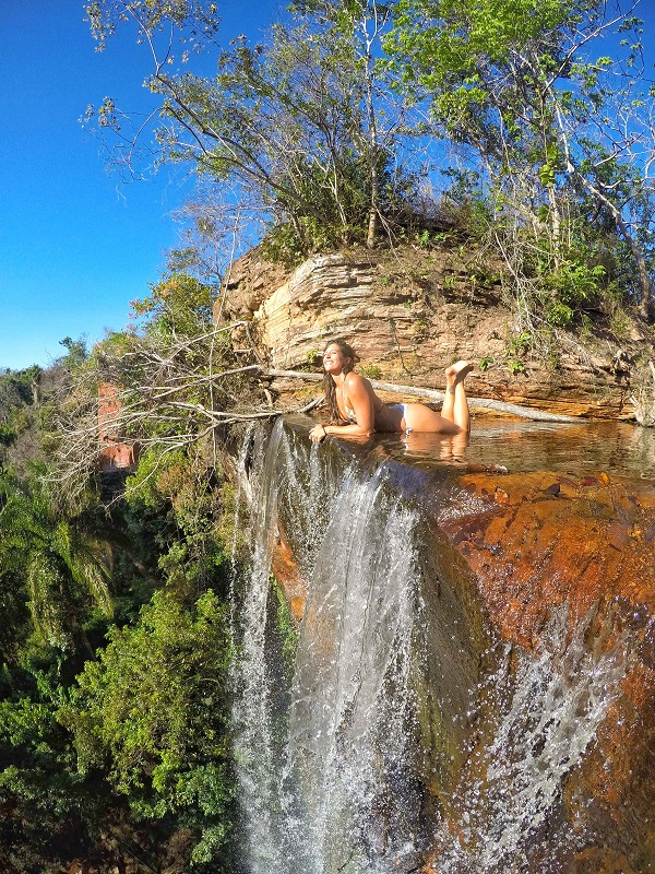 serras gerais, tocantins vale dos pássaros alto da cachoeira