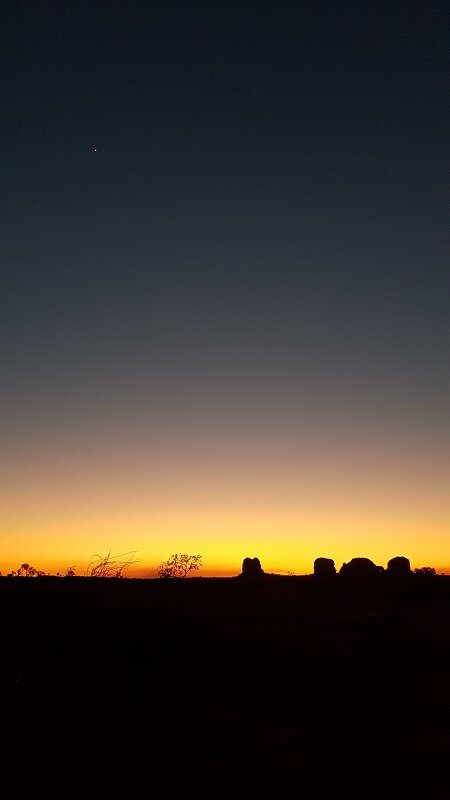 serras gerais, tocantins pôr do sol