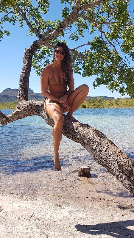 serras gerais, tocantins lagoa da serra árvore luisa galiza