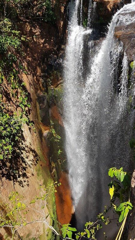 erras gerais, tocantins canion encantado rapel trilha da cachoeira