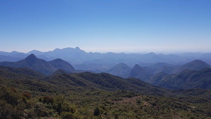 travessia petrópolis Teresópolis subida de montanha