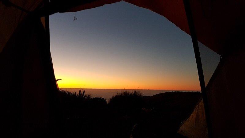 travessia petrópolis Teresópolis sol nascendo açú