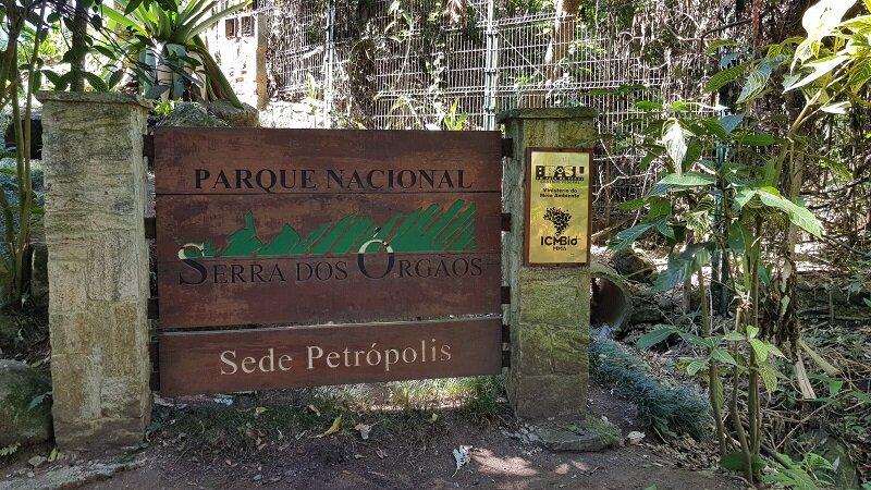 travessia petrópolis Teresópolis entrada do parque