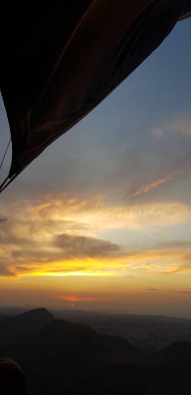 voo de balão na chapada dos veadeiros horário
