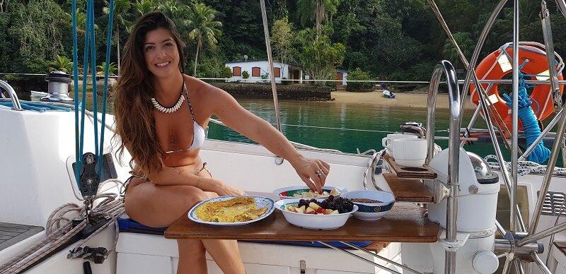 veleiro no Rio de Janeiro