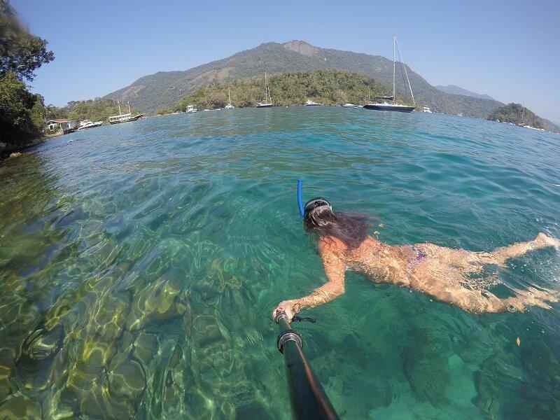 veleiro em angra snorkel