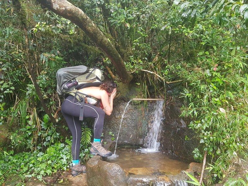 trekking do pico paraná luisa água