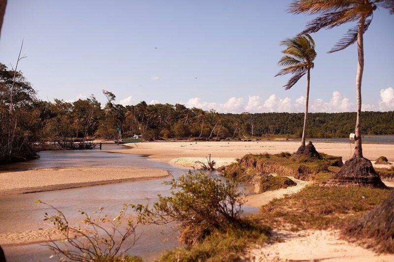 o que fazer na ilha do marajó praia caju una