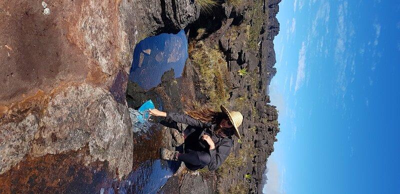 trekking do monte roraima agua