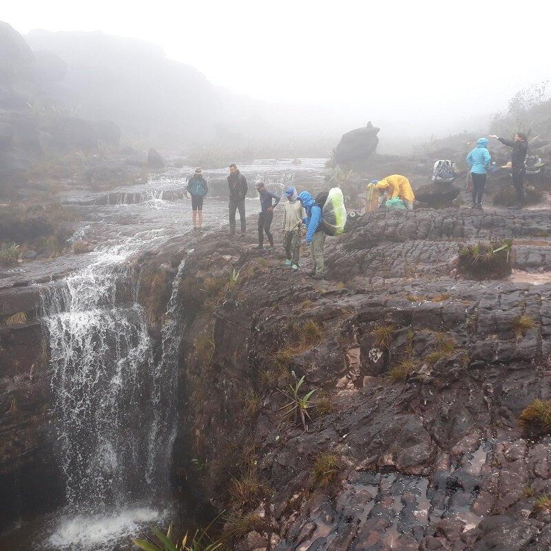 trekking do monte roraima El Fosso