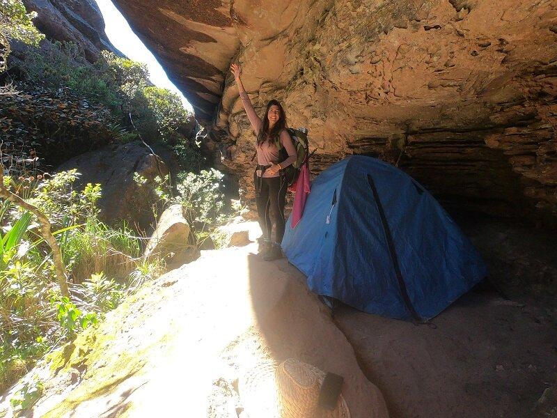 trekking do monte roraima camping quati