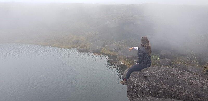 trekking do monte roraima lago gladys