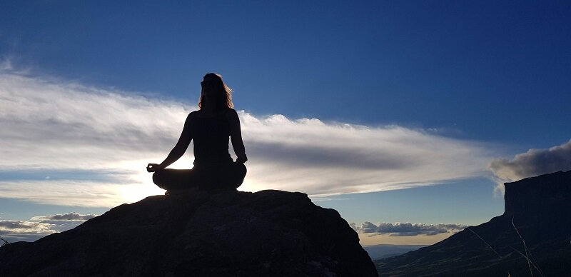 trekking no monte roraima meditação
